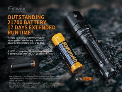 Fenix PD40R V2.0 Rechargeable Flashlight (3000 Lumens)-17461