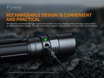 Fenix PD40R V2.0 Rechargeable Flashlight (3000 Lumens)-17462