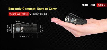 Klarus Mi1C High CRI Diffused EDC Flashlight-18431