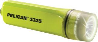 Pelican 3325 Safety Certified Torch - 162 Lumens (3AA) + Optional Helmet Clip-0