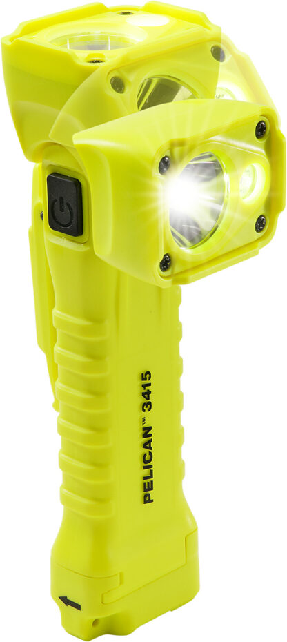 Pelican 3415M Right Angle Light (Magnet version) Safety Certified - 336 Lumens-0