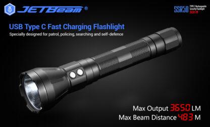 JETBeam New SSR50 Security Torch (3650 Lumens)-13141