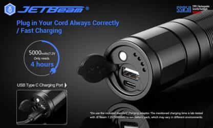 JETBeam New SSR50 Security Torch (3650 Lumens)-13149