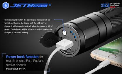 JETBeam New SSR50 Security Torch (3650 Lumens)-13138