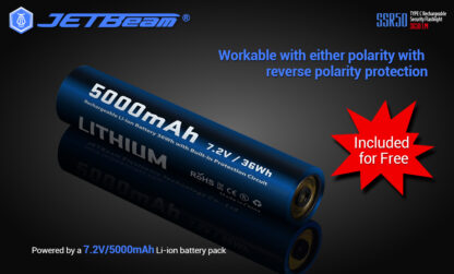 JETBeam New SSR50 Security Torch (3650 Lumens)-13144