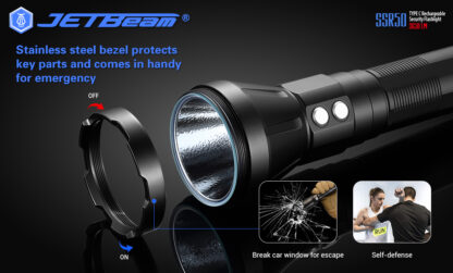 JETBeam New SSR50 Security Torch (3650 Lumens)-13134