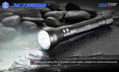 JETBeam New SSR50 Security Torch (3650 Lumens)-13142
