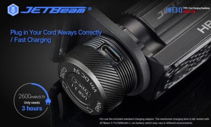 JETBeam HR30 Headlamp (950 lumens)-13408