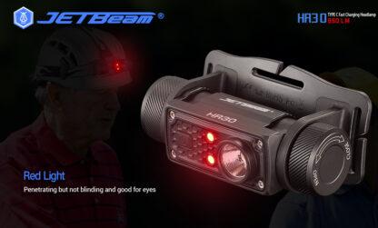 JETBeam HR30 Headlamp (950 lumens)-13409