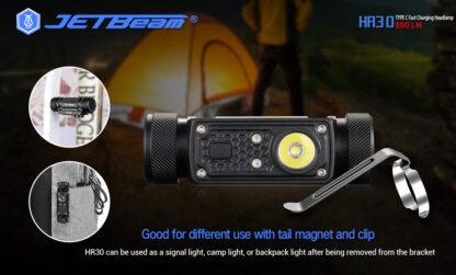 JETBeam HR30 Headlamp (950 lumens)-13412