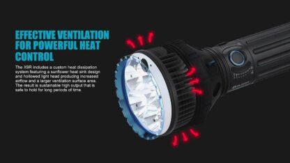 Olight X9R Marauder 25000 lumen rechargeable LED searchlight-13425