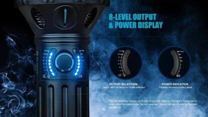 Olight X9R Marauder 25000 lumen rechargeable LED searchlight-13440