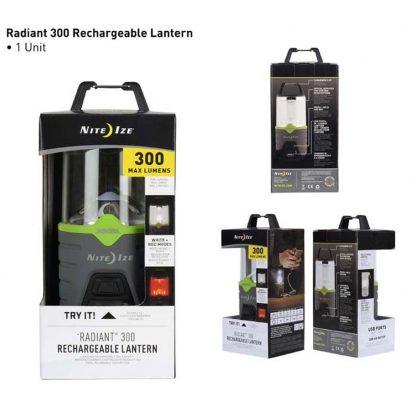 Nite Ize Radiant 300 Rechargeable Lantern-13341
