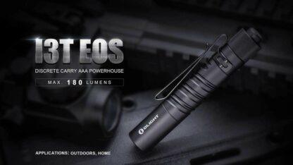 Olight i3T EOS AAA Pocket Torch -180 Lumens-13539