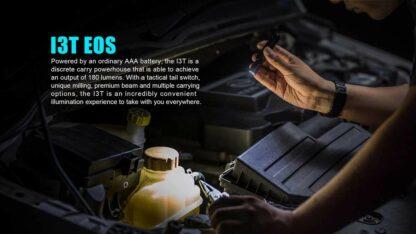 Olight i3T EOS AAA Pocket Torch -180 Lumens-13543