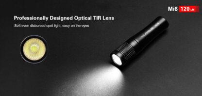 Klarus Mi6 1x AAA Keychain Flashlight 120LM - Black-13663
