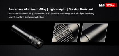 Klarus Mi6 1x AAA Keychain Flashlight 120LM - Black-13669