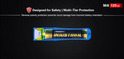 Klarus Mi6 1x AAA Keychain Flashlight 120LM - Black-13675