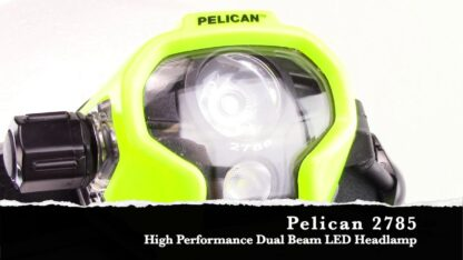Pelican 2785 LED Headlamp (215 Lumens) Certified Class 1 Div 1 / IECEx ia Approved-16872