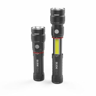 NEBO 'Slyde King' Rechargeable Flashlight and Work Light - 500 Lumens-0