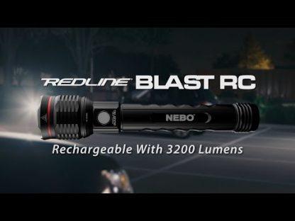 NEBO Redline Blast RC Rechargeable Flashlight + Power Bank - 3200 Lumens-18757