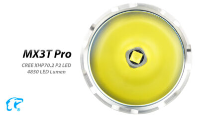 Eagletac MX3T Pro Rechargeable Flashlight 4850 Lumens-13704