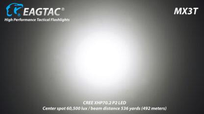 Eagletac MX3T Pro Rechargeable Flashlight 4850 Lumens-13694