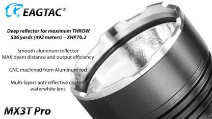 Eagletac MX3T Pro Rechargeable Flashlight 4850 Lumens-13697