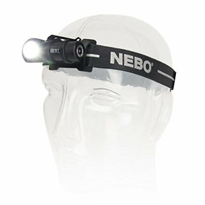 NEBO 'Rebel' Rechargeable Task Light/Headlamp - 600 Lumens-13778