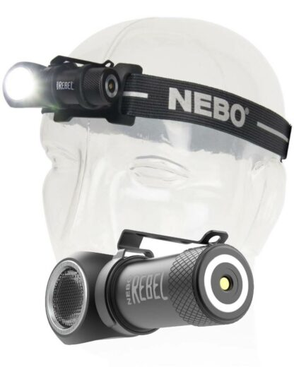NEBO 'Rebel' Rechargeable Task Light/Headlamp - 600 Lumens-15984