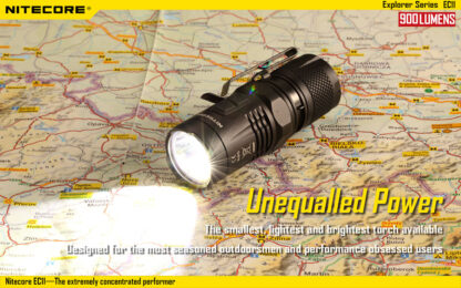 Nitecore EC11 Flashlight (900 Lumens)-14040