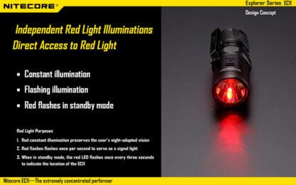 Nitecore EC11 Flashlight (900 Lumens)-14042
