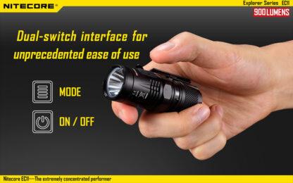 Nitecore EC11 Flashlight (900 Lumens)-14047