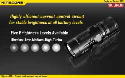 Nitecore EC11 Flashlight (900 Lumens)-14044