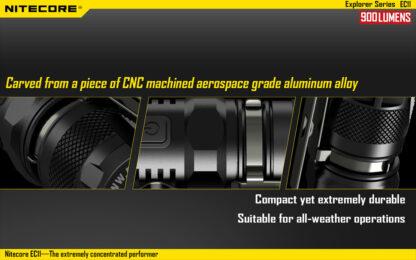 Nitecore EC11 Flashlight (900 Lumens)-14051