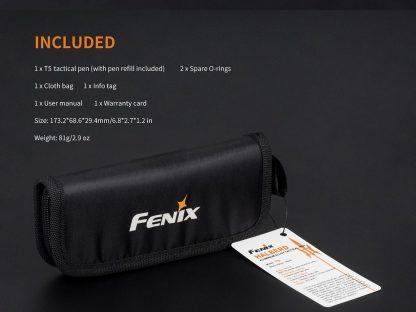 Fenix HalberdT5 Aluminium Alloy Tactical Pen-14124