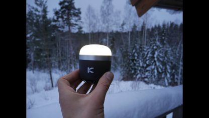 Klarus CL1 Rechargeable Camping Lantern (390 Lumens) and Bluetooth Speaker-16642