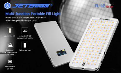 JETBeam FL12 Fill Light + Power Bank-14666