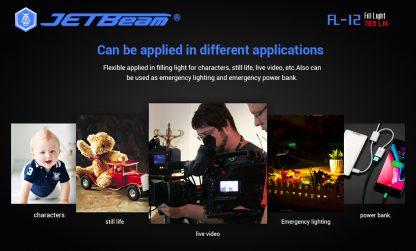 JETBeam FL12 Fill Light + Power Bank-14665