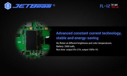 JETBeam FL12 Fill Light + Power Bank-14663