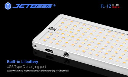 JETBeam FL12 Fill Light + Power Bank-14664