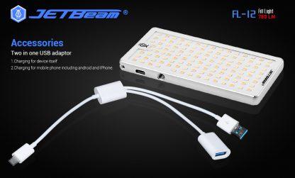 JETBeam FL12 Fill Light + Power Bank-14657