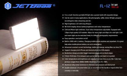JETBeam FL12 Fill Light + Power Bank-14660