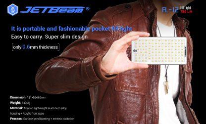 JETBeam FL12 Fill Light + Power Bank-14667