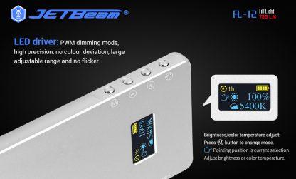 JETBeam FL12 Fill Light + Power Bank-14668