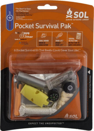 SOL (Survive Outdoors Longer) Pocket Survival Pak-0