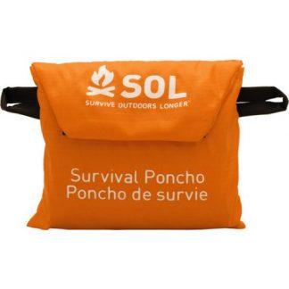 SOL (Survive Outdoors Longer) Survival Poncho-0