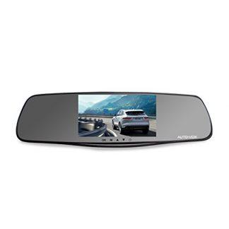 Mirror Dash Cam and Reverse Camera Kit (1080P)-0