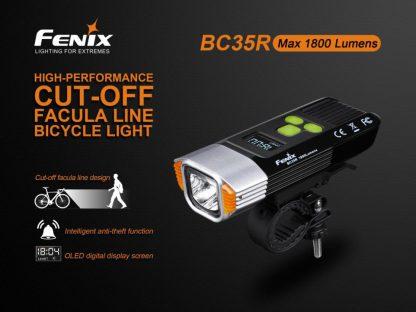 Fenix BC35R Rechargeable Bike Light (1800 Lumens)-14892