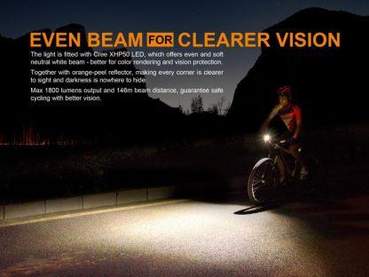 Fenix BC35R Rechargeable Bike Light (1800 Lumens)-14888
